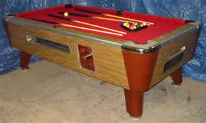 Valley Bar Table Valley Bar Size Commercial 7 Coin Operated Pool Table Refurbished Ebay