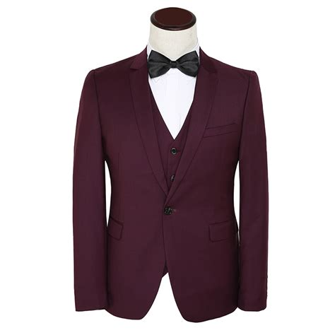 aliexpress com buy brand classic men suit wine red color