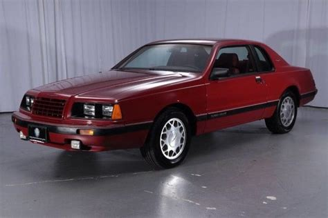 1986 ford thunderbird turbo coupe 121547 miles coupe 2 3l 4 cyl engine manual for sale ford