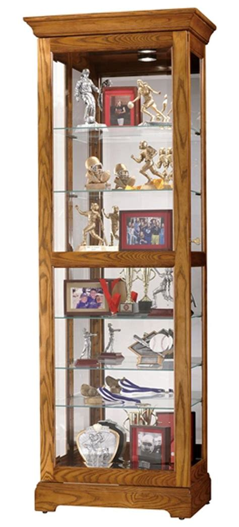 Dish Display Cabinet by This Display Cabinet Has Six Glass Shelves With Plate