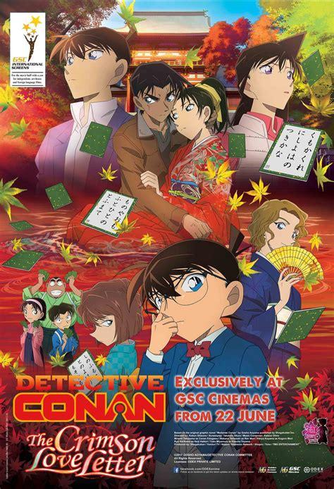 Letter Japanese Cast Detective Conan The Crimson Letter Gsc