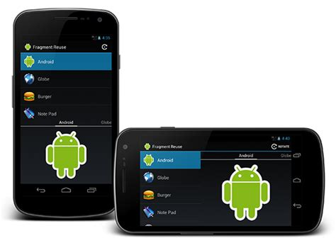 android fragments github stevenbyle android phone tablet demo an android application to demonstrate reusing