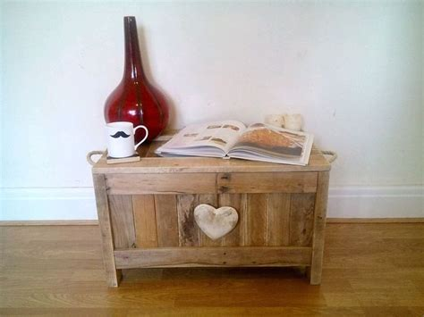 Rustic Wooden Blanket Box Vintage Coffee Table Ottoman Wooden Ottomans And Blanket Boxes