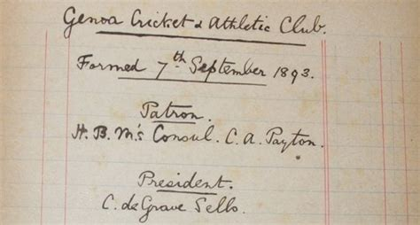 consolato inglese genova nasce il genoa 1893 almanacco