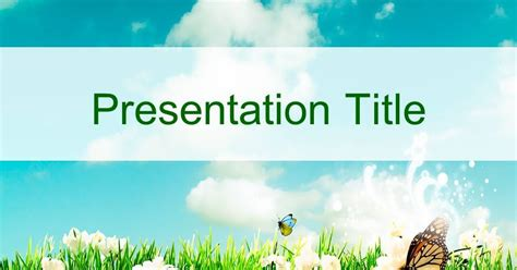 4 h powerpoint template nature powerpoint template 57 แจก powerpoint template สวยๆ