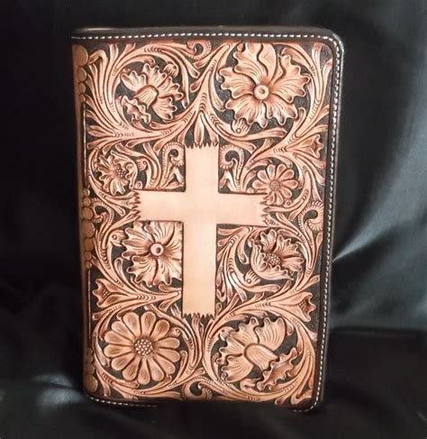 Handmade Cover - handmade custom leather bible covers by u leather