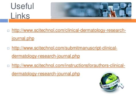 Research Letter Journal Of Dermatology Launch Of Quot Clinical Dermatology Research Journal Cdrj Quot