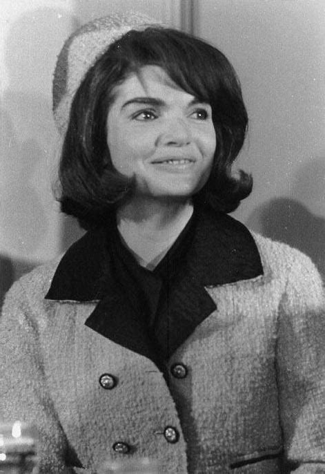 Jackie Kennedy Hairstyles by My Jacqueline Kennedy Suit At The White House
