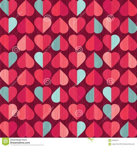 heart pattern jpg valentines day retro heart pattern stock vector image