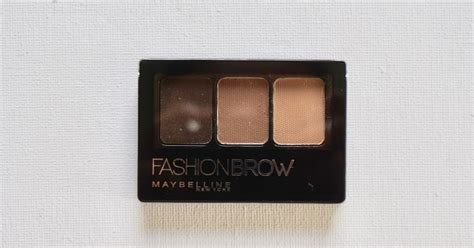 Maybelline Eyebrow Palette maybelline fashion brow 3d palette in light brown review