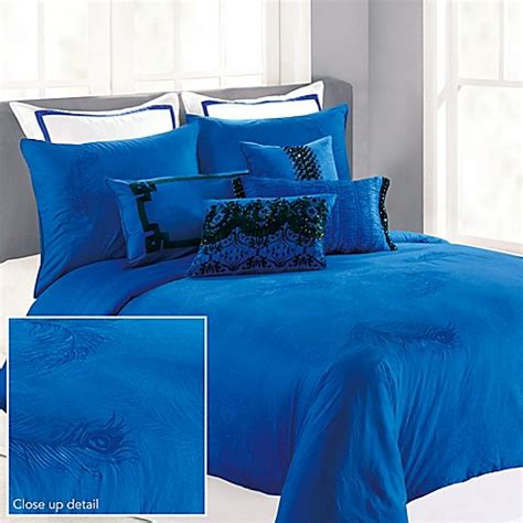 nanette lepore bedding buy nanette lepore villa peacock king duvet cover set in