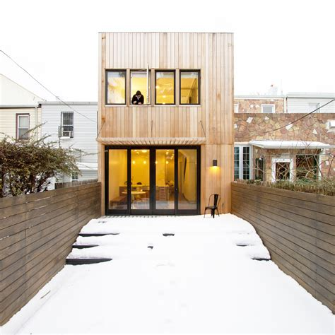 row home design news brooklyn row house office of architecture archdaily