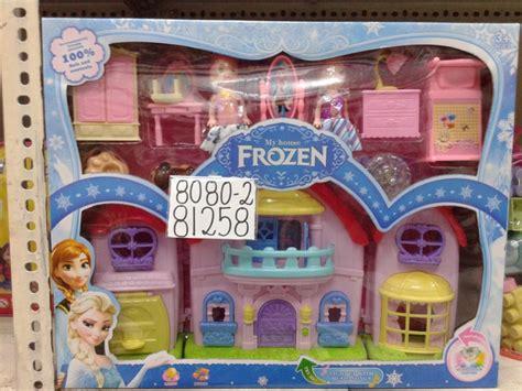 Mainan Rumah Rumahan Mini jual mainan rumah rumahan frozen 43shop