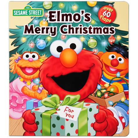 elmo s merry christmas book musictoday superstore