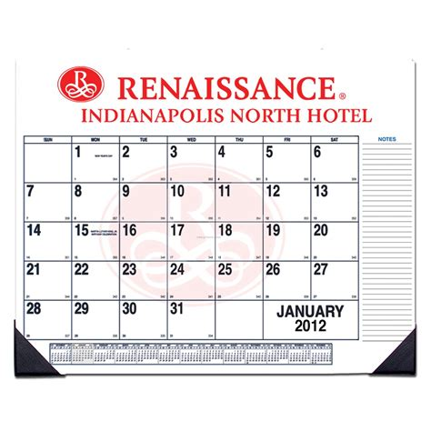custom desk pad calendar custom desk pad calendar 1 color china wholesale