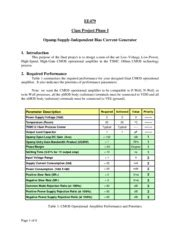 linear integrated circuits lesson plan ee 479 analog and non linear integrated circuit design usc