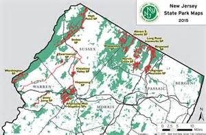 New York State Parks Map by Nj State Park Maps Trail Conference