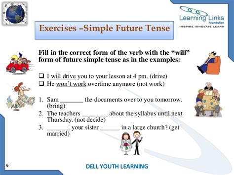 the pattern of simple future tense all worksheets 187 simple future tense worksheets for grade