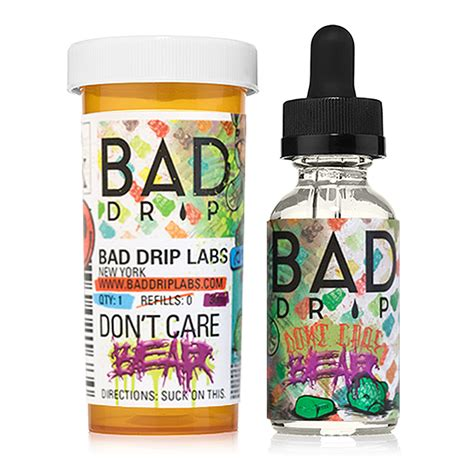 Bad Drip 30ml Perminum Liquid Usa Diskon bad drip don t care e liquid vaporized