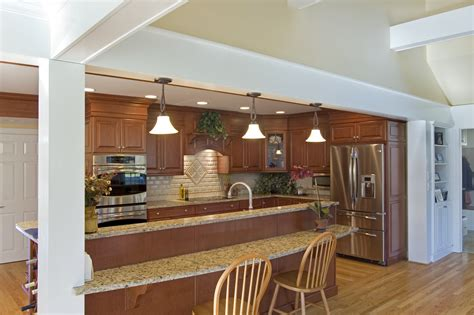 Kitchen Interior Design Tips by Family Room Addition