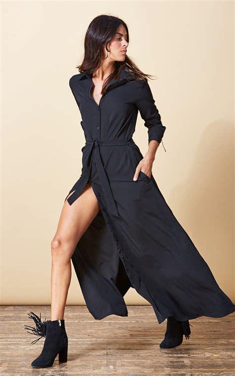 Maxi Laluna Black leopard black maxi dress boutique