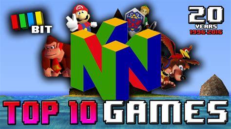 best nintendo 64 top 10 nintendo 64 1996 2016 nintendo 64