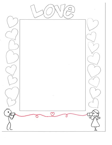 paper picture frame template s day embrace your spirit of