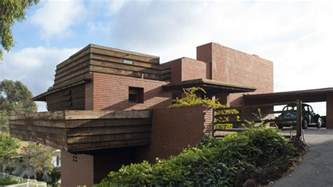 frank lloyd wright style homes historic frank lloyd wright design going up for auction in l a sun heritage real estate sun