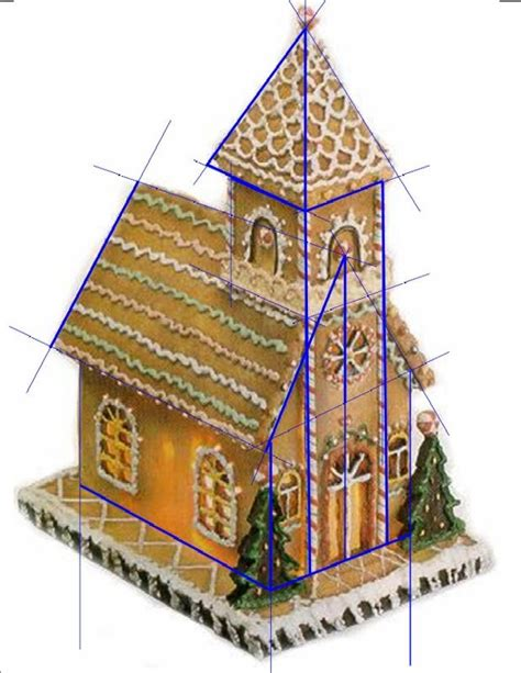 25 best ideas about gingerbread house template on