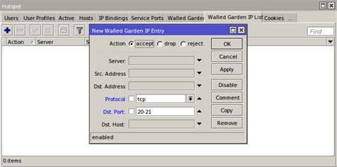 Mikrotik Walled Garden Tutorial Walled Garden Di Mikrotik Brain Learn