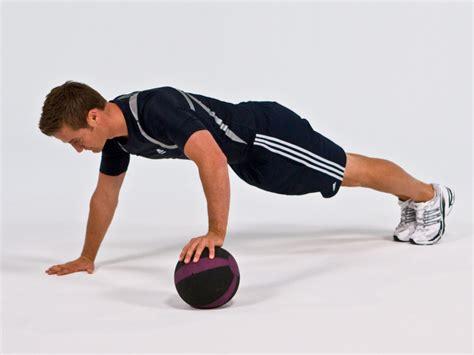 Increase Your Bench Press Program Push Up Alternating Medicine Ball Movements Exos
