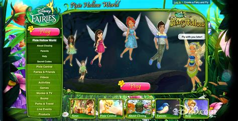 disney fairies pixie hollow d23