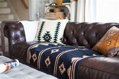 throw blanket for leather couch living room redo with a new leather sofa
