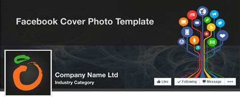 cover photo template company cover illustrator template may 2015