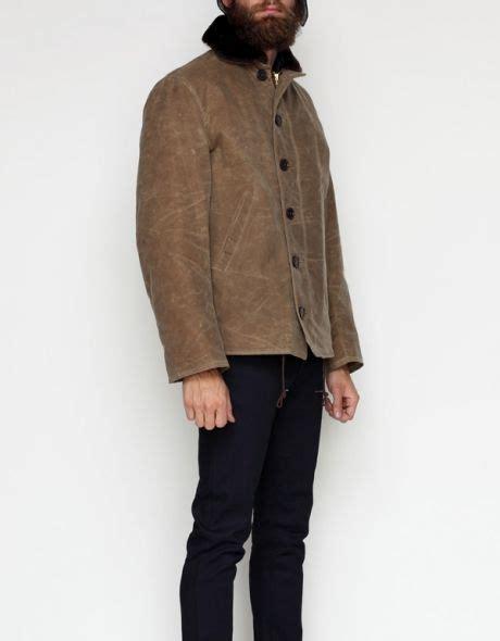 Jaket B Bross waxed n1 deck jacket b jackets and decks