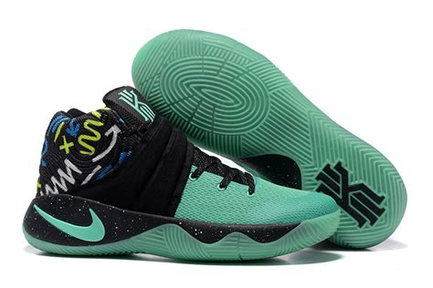 green and black basketball shoes nike kyrie 2 mint green black men s basketball shoes