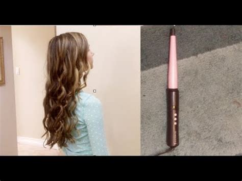 hair tutorial wand remington curling wand review and tutorial youtube