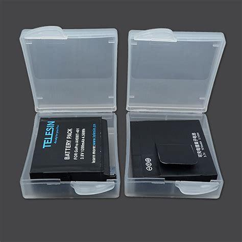 Termurah Battery Storage Box Cover For Xiaomi Yi Gopro H waterproof battery storage box cover 1 pcs for xiaomi yi gopro sjcam