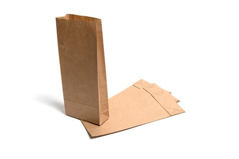 Brown Craft Paper Bags - brown kraft paper sos block bottom bags 7lb your one