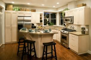 nice kitchen island with granite countertop natural