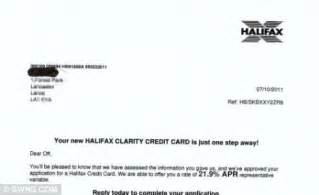 Bank Details Letter To Customers Halifax Bank Sends Of One Steve Smith Abusive Letter Daily Mail