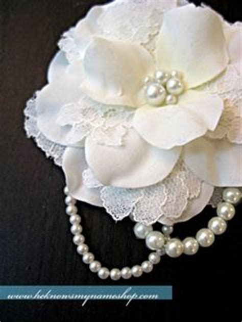 diy 4 quot vintage lace flower frilly hair flowers headbands 1000 images about vintage wedding on brooch