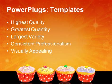 Cupcake Powerpoint Template Pictures To Pin On Pinterest Pinsdaddy Cupcake Powerpoint Template