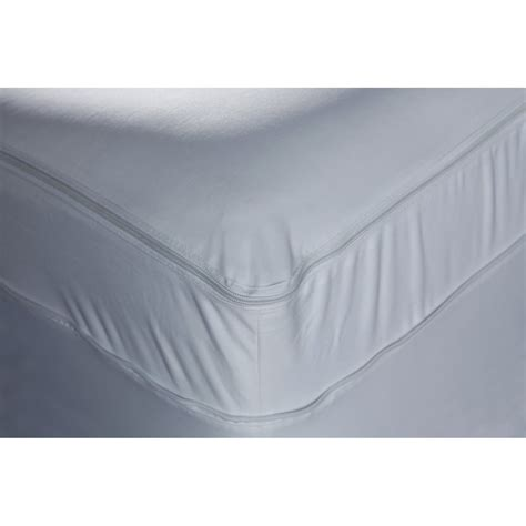 bed bug cover shop leggett platt polyester twin extra long mattress