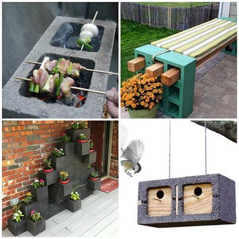 creative cinder block projects    home