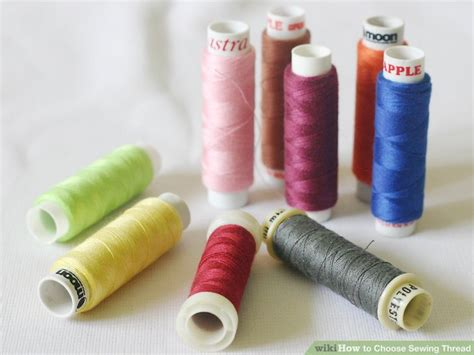 swing thread how to choose sewing thread 6 steps with pictures wikihow