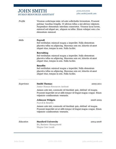 resume template download free microsoft word 50 free microsoft word resume templates for