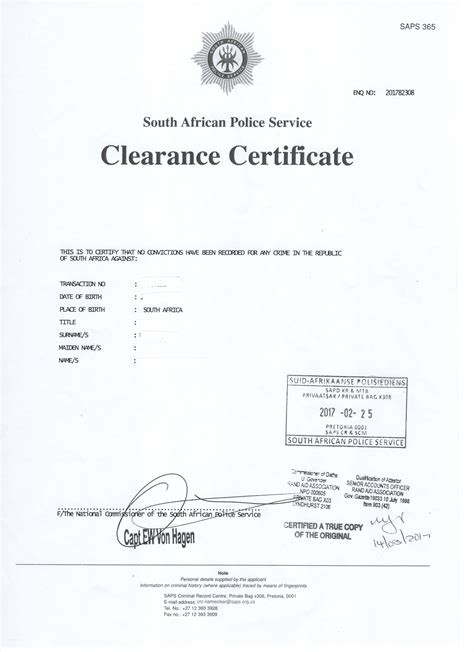 Pretoria Criminal Record Centre Essentials Archives Gloii Consulting