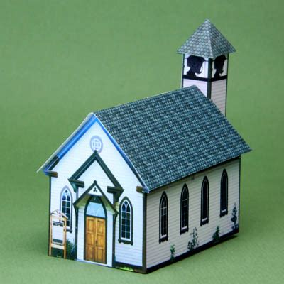 How To Make A Paper Church - does size matter liturgy