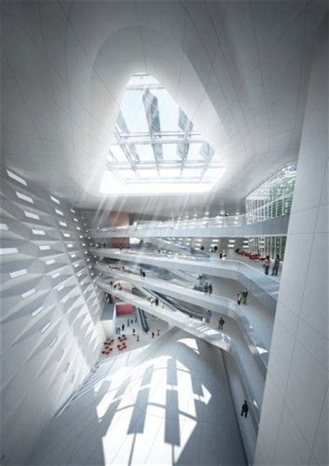 gallery of south west hotel competition proposal henn architects 1 17 best images about atrium spaces on pinterest museums